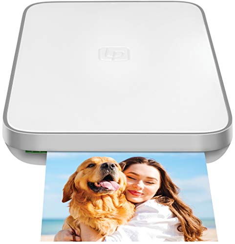 Lifeprint 3x4.5 Portable Photo and Video Printer for iOS and Android devices. Make Your Photos Come to Life w/Augmented Reality - White