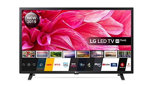 LG Electronics 32LM630BPLA.AEK 32-Inch HD Ready Smart LED TV with Freeview Play - Ceramic Black Colour (2019 model)            [Energy Class A]