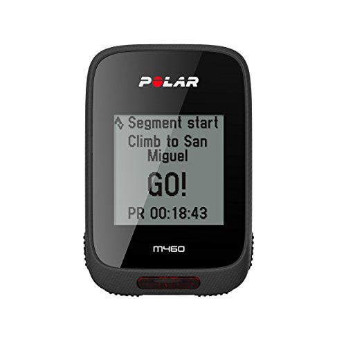 POLAR Unisex's M460 GPS Bike Computer Without Heart Rate