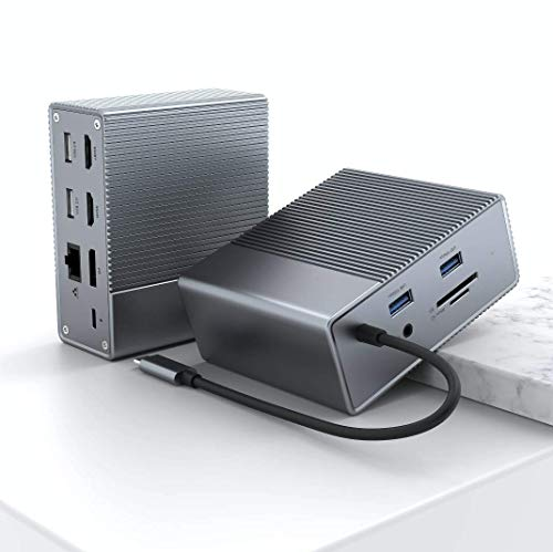 Hyper Drive GEN2 12-in-1 USB-C Dock For Any Computer / Mobile Device with USB-C Port - 2X Speed