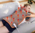ATMOKO Back Warmer for Shoulder Back Pain Relief with 4 Heat Settings
