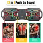 13 in 1 Fitness Equipment Muscle Board With Exercise Resistance Bands and Skipping Rope