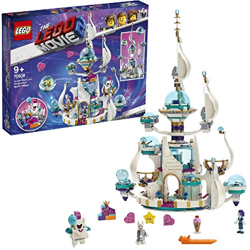 LEGO MOVIE 2 70838 Queen Watevra's Space Palace Set with Mini-Spaceships and 6 Minifigures