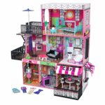 KidKraft 65922 Brooklyn's Loft Wooden Dolls House with Furniture and Accessories Included