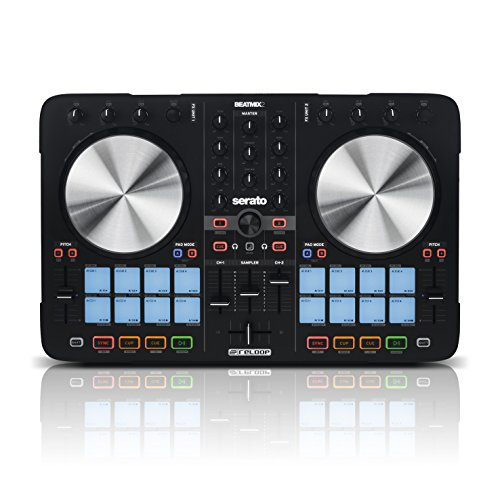 Reloop Beatmix 2 MK2 Two Channel Performance Pad DJ Controller with 16 Performance Pads