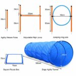 Hurdle Bar Adjustable Height for Pet Dogs Outdoor Games Exercise Training
