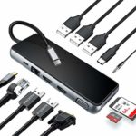 USB C Hub Laptop Docking Station