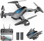 DEERC D10 Foldable Drone with Camera for Adults 720P HD FPV Live Video