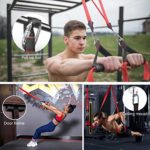 Resistance Bands Set with Handles Door Anchor Home Gym for Strength Training