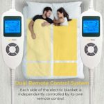 Dual Remote Control and Luxury Fleece Material