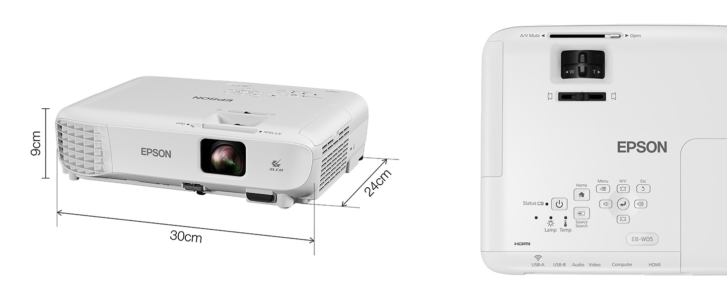 eb-w05, epson, projector, projection, business, benq, optoma