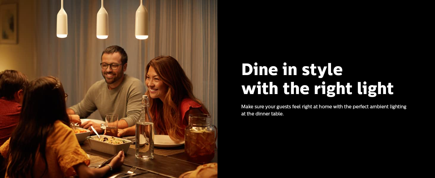 Dine in style with the right Light