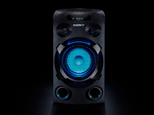 Sony MHC-V02, Sony MHCV02, Sony MHC V02, Sony V02, high power audio, JET BASS BOOSTER, Party speaker