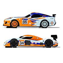 gulf racing slot car scalextric