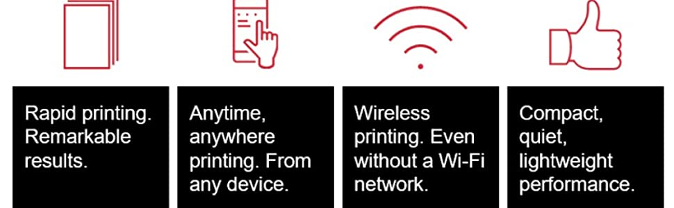 rapd printing remarkable results WIFI ready wireless compact lighweight