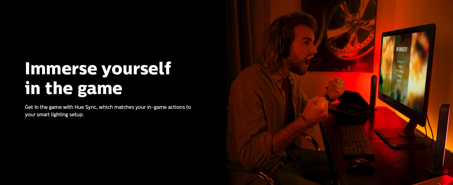 Immerse yourself in the game with Hue