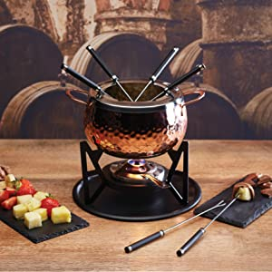 fondue cheese choclate meat sweeden