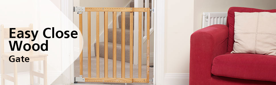 Safety 1st;home safety;door gates;Easy close wood;module 1
