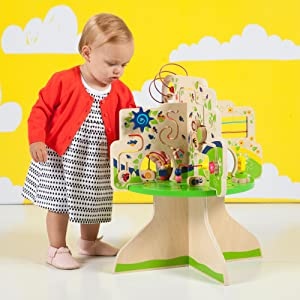 activity center;activity center for 1 year old;bead run;activity toy;baby wooden blocks;counting toy