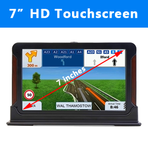 """7"""" HD Touch Screen"""