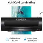 Morpilot A3 Thermal and Cold Laminating Machine with 20 pcs Laminating Pouches