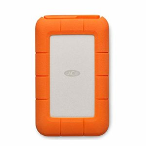 LaCie Rugged Mini 4 TB USB-C + USB 3.0 Portable 2.5 inch External Hard Drive for PC and Mac