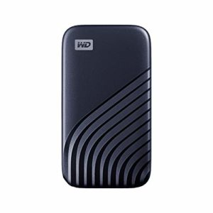 WD 2TB My Passport Portable SSD with NVMe Technology