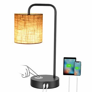 Touch Bedside Lamps for Bedrooms