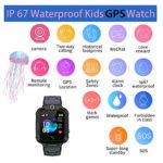 Children's Student Watch GPS Tracking Locator Alarm Clock Voice Chat