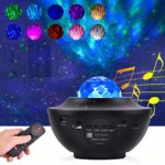 Miavogo Star Galaxy Projector Light - Room Decor Night Light Projector with Bluetooth