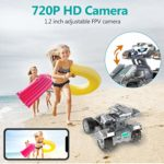 4WD WiFi FPV High Speed Gravity Sensor RC Cars With Lights