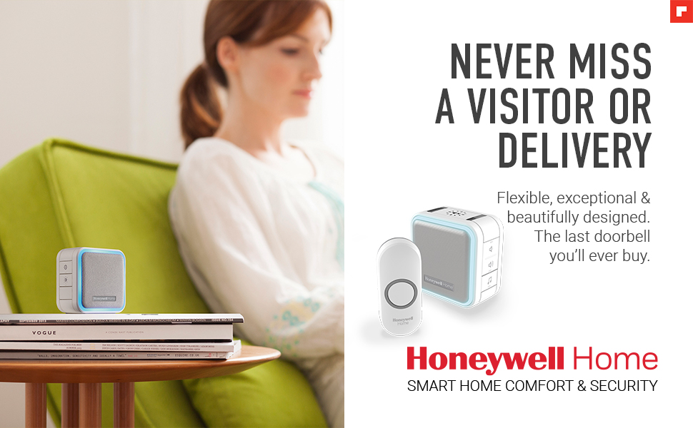 Honeywell Home - never miss a visitor or delivery. Flexible, exceptional and beautiful doorbells.