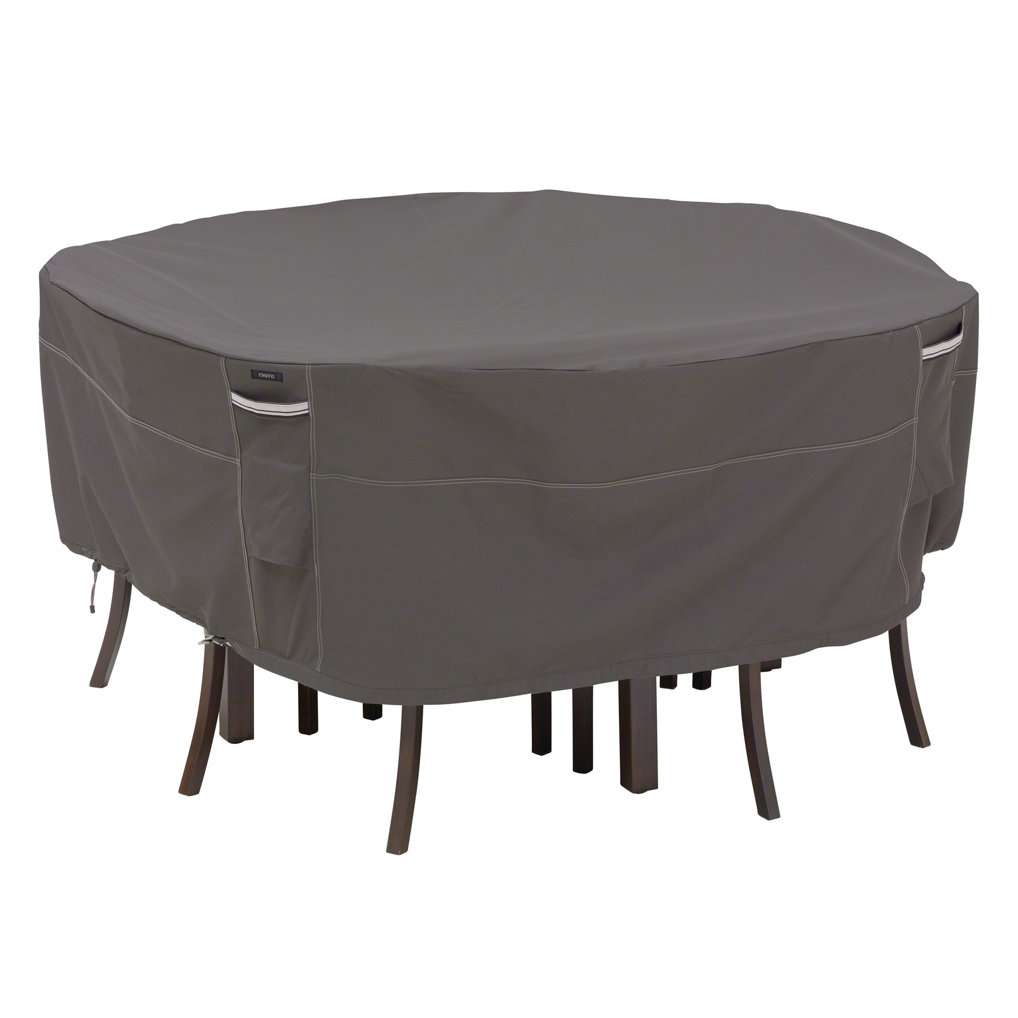 Classic Accessories 55-157-035101-00 Ravenna Round Patio Table & Chair Cover