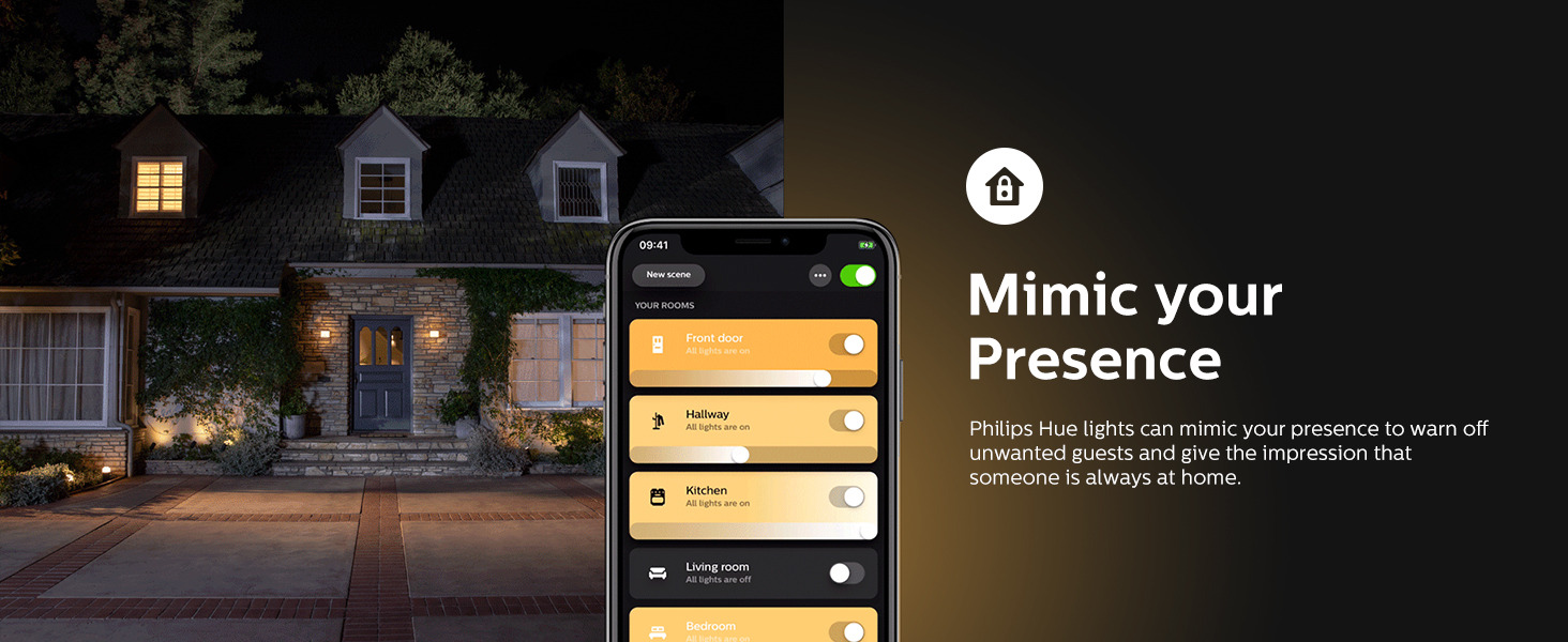 Philips Hue Mimic your Presence