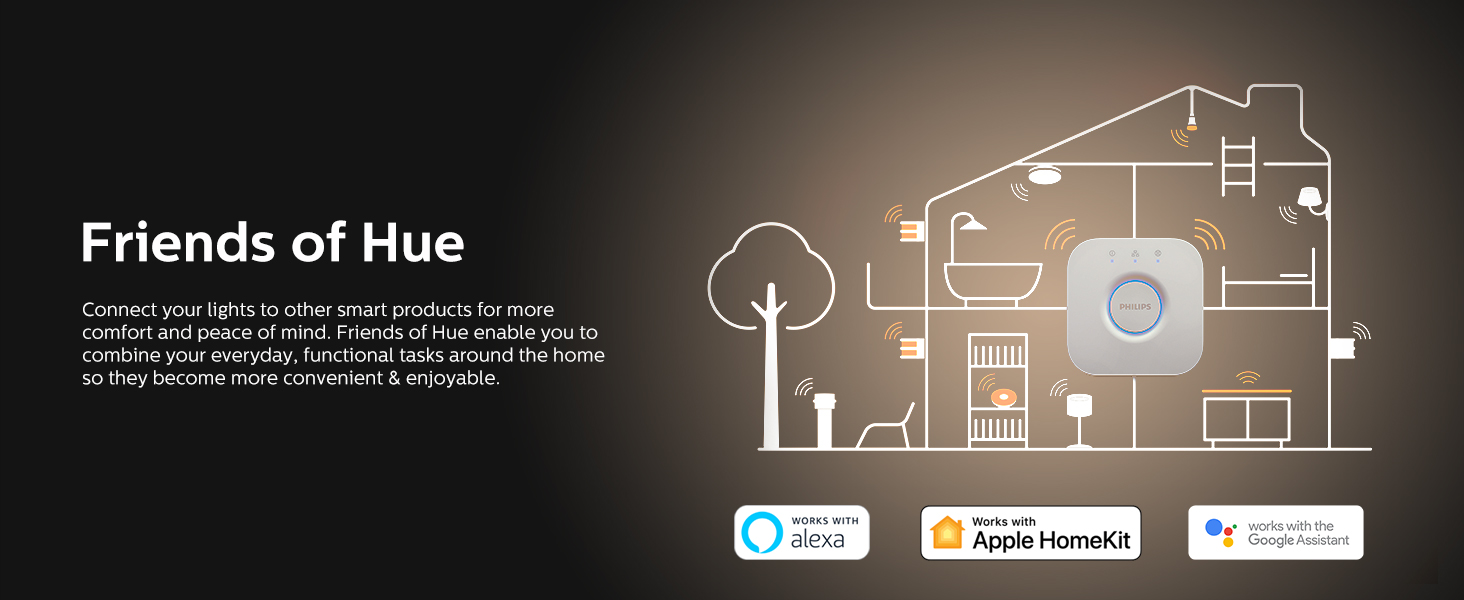 Philips Hue Works with