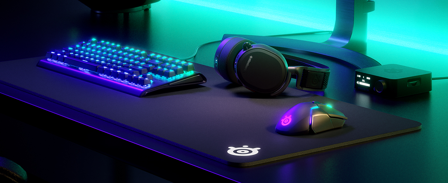 SteelSeries Arctis 5, Gaming Headset, RGB Illumination, DTS Headphone X v2.0 Surround for PC and PS4