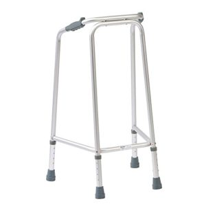 NRS Healthcare Drive DeVilbiss Narrow Walking Frame N73296 Adjustable Height - Medium (Eligible for VAT relief in the UK)