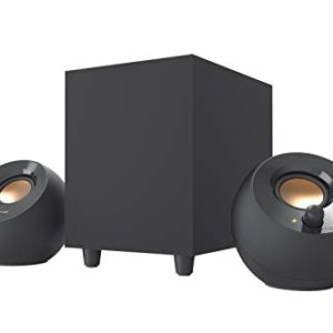 Creative Pebble Plus 2.1 USB-Powered Desktop Speakers with Powerful Down-Firing Subwoofer and Far-Field Drivers