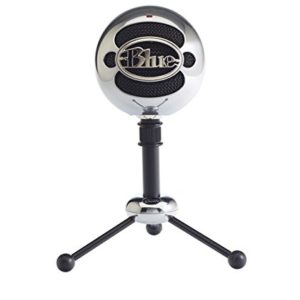 Blue Microphones 988-000175 Snowball Omnidirectional/Cardiod USB Microphone with Two Versatile Pickup Patterns and Stylish