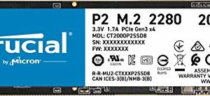 Crucial P2 CT2000P2SSD8 2 TB Internal SSD