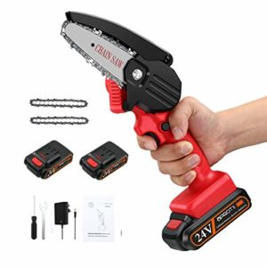 APROTII Mini Chainsaw with 2 Battery