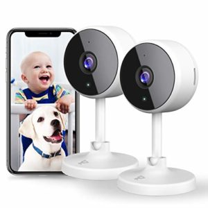 [New2021] WiFi Camera 2Pcs Littlelf Indoor Cameras for Home Security