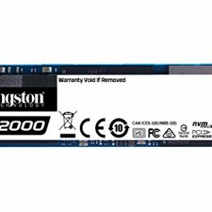 Kingston A2000 (SA2000M8/250G) SSD NVMe PCIe M.2 2280