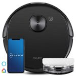 Ecovacs DEEBOT OZMO T8 AIVI Robot Vacuum Cleaner with Mop (Smart AIVI Object Recognition